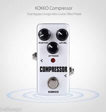 Flanger KOKKO Compressor Pure Analog Circuit True Mini Guitar Effect Pedal