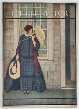 DELINEATOR Magazine May 1912 PAPER DOLL Cut Outs Color FASHIONS Home Ads