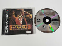 Gunfighter: The Legend of Jesse James (Sony PlayStation PS1, 2001) - CIB, Tested