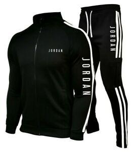 NEW Mens Michael Air Legend 23 Jordan Tracksuit Hoodie & Pants Men Sport Fashion