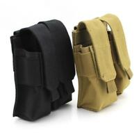 Molle Double Magazine Pouch Pistol Cartridge Clip Pouch for USUG 30 RD