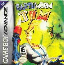 Earthworm Jim Gba Great Condition Fast Shipping