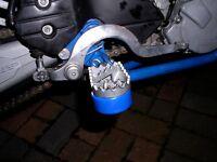 Husqvarana 701 Supermoto Pied Repose Pied Sliders Choc Champignons Bleu R6D5