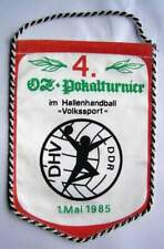 Wimpel HSG Wissenschaft Greifswald 4. Handball Ostsee Zeitung Turnier 1985