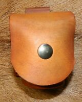 Gary C's Leather Spare Cylinder Pouch 36/ 44 cal for Ruger Old Army Black Powder