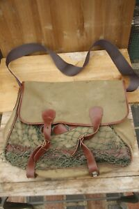 Hunting Game Bag with Net. Retro.  See details. 35cm Tall by 39cm Wide.