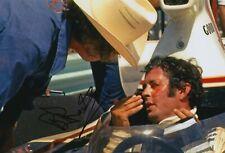 Brian Redman Hand Signed 12x8 Photo - Formula 1 - F1 Autograph.