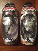Star Wars MicroMachines SPEEDER BIKE & SNOWSPEEDER Hasbro Toys NIP LOT OF 2