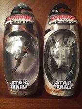 Star Wars Titanium Series SPEEDER BIKE & SNOWSPEEDER LOT OF 2 Hasbro Toys NIP