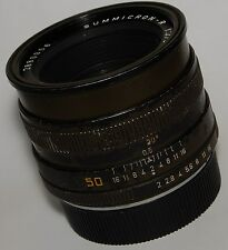 Leitz 50mm Summicron-R f/2 Safari lens, olive/khaki/military green, 3rd-cam.....