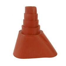 Gummimanschette - Antennen  Dichtung - Dachsparrenhalter Dachziegel Latex rot
