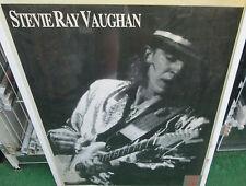 STEVIE RAY VAUGHAN  SEALED POSTER OOP LIVE  ROCK RARE  GUITAR GOD