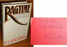 Signed/Inscribed 1st Edition ~ Ragtime by E.L. Doctorow (1975, Hardcover)