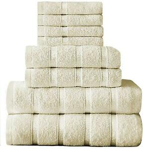 Boston Egyptian Towels Bale Set 100% Egyptian Cotton Super Soft Absorbent 500GSM