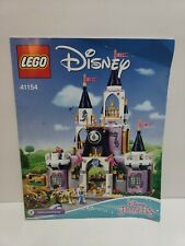Lego Disney Princess Cinderella's Dream Castle (41154) INSTRUCTION MANUAL ONLY
