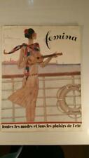 REVISTA FRANCESA FEMINA. ABRIL 1928. REVISTA DE MODA, SOCIEDAD, ANUNCIOS.