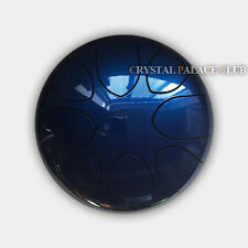 """10"""" Steel Tongue Drum/Handpan (Bag included)-C Major Natural Scale Blue"""