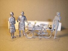 4  FIGURINES  1/43  SET 179  LE  MARCHAND  DE  CYCLES  VROOM  FOR  SPARK  NOREV