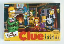 NEW The Simpsons CLUE Classic Detective Game 2nd Edition FACTORY SEALED IN BOX