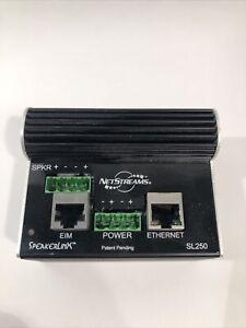 NetStreams SpeakerLinX SL250 IP Zone Controller Module / Amplifier Free Shipping