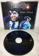 CD MODJO - WHAT I MEAN - SINGLE