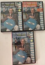 Johnny Carson Tonight Show The Vault Series Vol 1, 5 & 6 DVD New Sealed