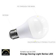 E27 Standard Base LED Bulb Lamp 6W/9W/12W/15W/18W/20W Light BY White White/Warm