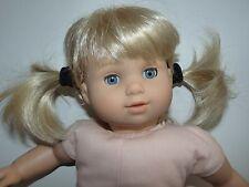 American Girl Doll Bitty Twin Girl Blonde Hair Blue Eyes Pretty Lashes