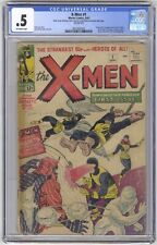 X-Men #1 CGC 0.5 VINTAGE Marvel Comic KEY 1st Original Team, Magneto, Prof X