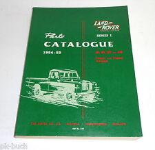 Teilekatalog Parts Catalog Land Rover 86 88 107 109 Benzin + Diesel 1954-1958