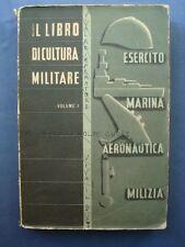 FASCISMO-ISTRUZIONE-LOTTO 5 VOLUMI-BALILLA VITTORIO-LIBRO DI  CULTURA MILITARE