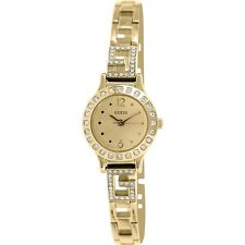 Guess Women's Gold Tone Analog Watch U0411L2