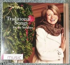 Martha Stewart Living Music Traditional Songs For The Holidays CD 2005 (a28)