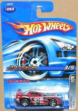 HOT WHEELS 2006 DRIFT KINGS 24/SEVEN #053 RED W+