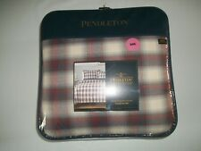 PENDLETON Ranch Hand PLAID 3 PC KING Bed COMFORTER Bedspread + 2 Pillow SHAMS