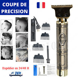 Tondeuse De Précision Cheveux Barbe Corps Professionnelle Détails Sans Fil Homme
