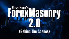 Forex Masonry 2.0 by Russ Horn.  Brand New Oct 2019  Free Shipping.