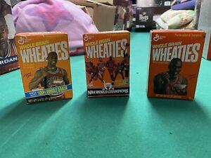 Michael Jordan Mini Wheaties Boxes, Unopened