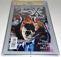Topps Comics X-Files #11 CGC SS 9.8 Signature Autograph DAVID DUCHOVNY Signed