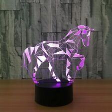 3D Lamp Creative Gifts LED Table Lamp Acrylic Lighting Lamp Acrylic Nightlight