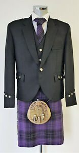 Chieftain Passion Of Scotland Purple 8 Yard DELUXE Kilt Exclusive to us £49