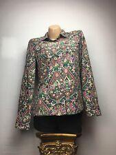 Woman's Tommy Hilfiger Large (L) Paisley Long Sleeve Shirt. 100% Cotton