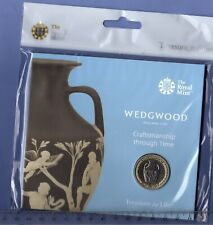 Royal Mint 2019 ~ WEDGWOOD £2 Two Pounds ~ BUNC Sealed