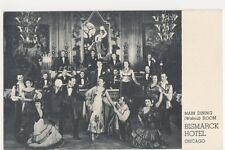 USA, Main Dining Room, Bismark Hotel, Chicago Postcard, B271