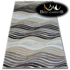 Very Soft Rug 'YAZZ' 100% Acrylic High Quality Rugs Unique Design WAVES