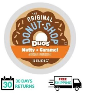 Donut Shop Duos Nutty Caramel Keurig Coffee K-cups YOU PICK THE SIZE
