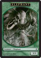 4 Elephant Token NM-Mint Conspiracy - mtg SPARROW MAGIC 4x x4