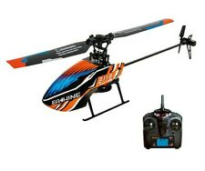 Eachine E119 2.4G 4CH 6-Axis Gyro Flybarless RC Helicopter RTF With 4 Batteries