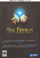 Arx Fatalis PC Game Windows 7 8 10