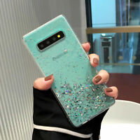 Bling Star Women Case TPU Back Cover For Samsung Galaxy S8 9 10 Note 8 9 10 Plus